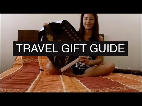 TRAVEL GIFTS - GIFT GUIDE FOR TRAVELERS