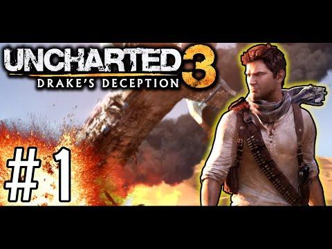 UNCHARTED 3 [#1] - Początek Wakacyjnej Przygody || GAMEPLAY PL