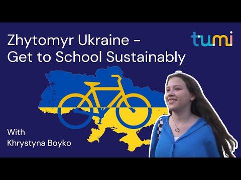 Zhytomyr Ukraine - Get to School Sustainably - TUMI