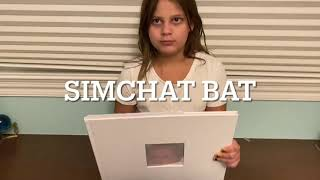 Harlow's Simchat Bat Ceremony Program and Photographs
