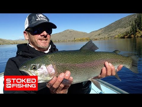Stoked on convict lake eastern sierras part 2 youtube for Convict lake fishing report