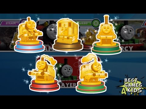 Thomas & Friends: Go Go Thomas! – Speed Challenge | Unlock All TROPHIES, JAMES' Turbo Boost By Budge