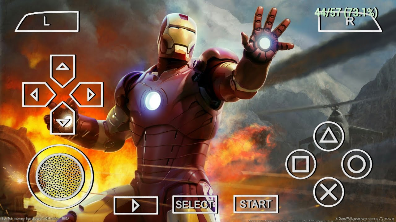 Top 5 Iron Man Offline Games For Android 2020 | Best High Graphics Iron Man PPSSPP Android Games