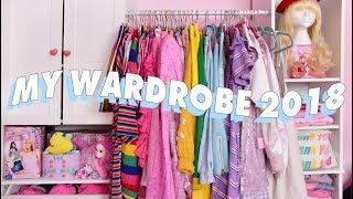 💘 MY CLOSET TOUR!! 2018 Wardrobe Tour Pt 2💘