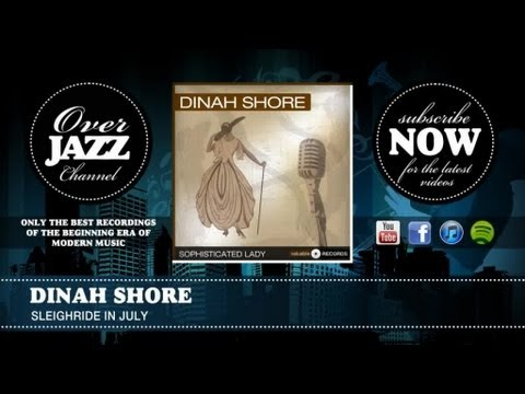 Dinah Shore - Sleighride In July (1945) mp3