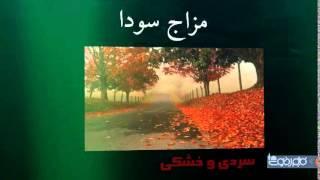 کلاس قالیبافی شیراز مزاج دموی و سوداوی - دکتر افراسیابیان - طرح جامع زندگی سالم و موفق