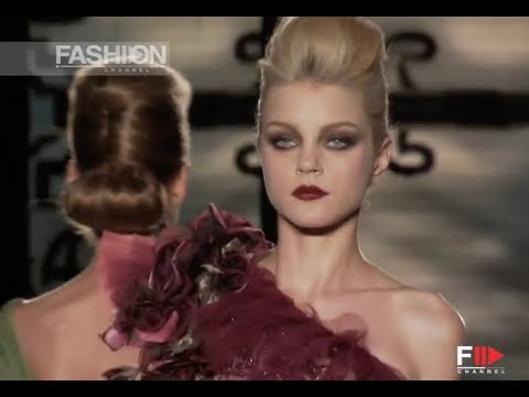 VALENTINO Fall Winter 2006 2007 Haute Couture Paris – Fashion Channel
