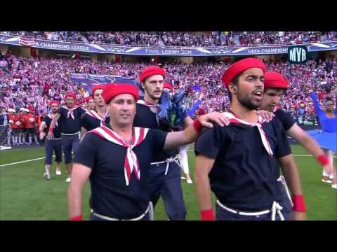2014 UEFA Champions League Final Opening Ceremony, Estadio da Luz, Lisbon