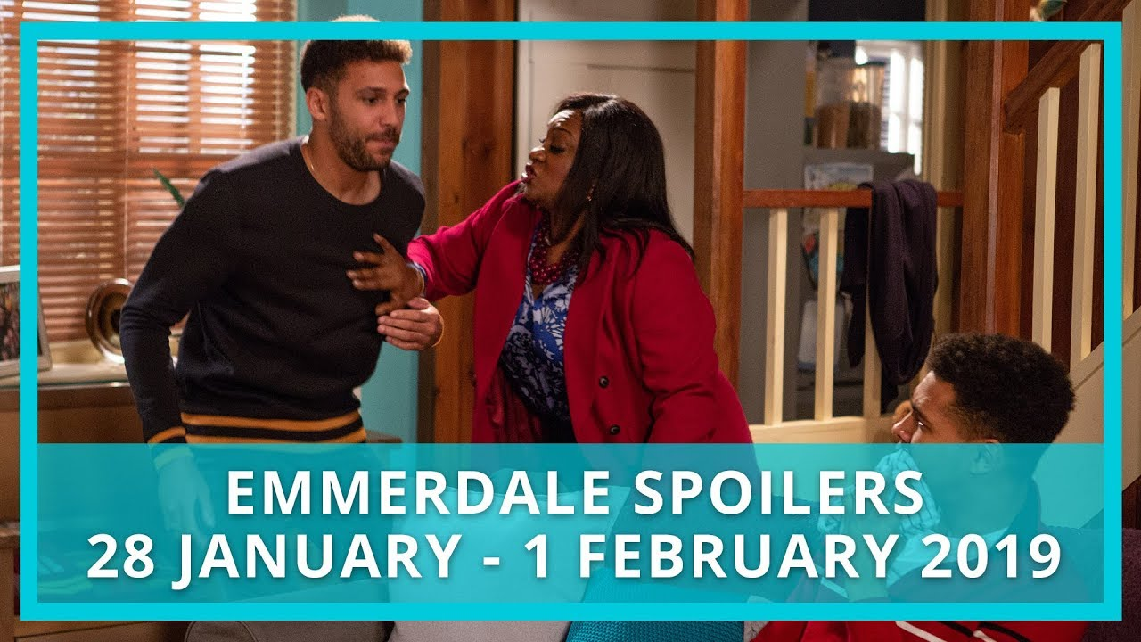 Emmerdale spoilers: 28 January - 1 February 2019