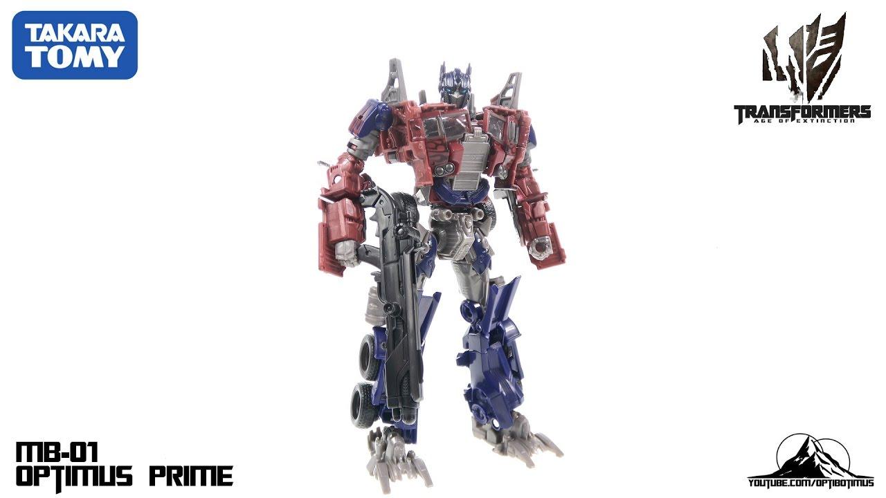 Takara TOMY Transformers Movie Best MB 01 Optimus Prime Action Figure