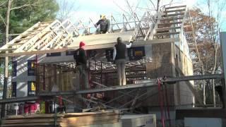 Garage Roof Framing