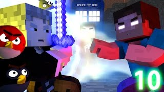 ANGRY MINECRAFT 10 (The Final Battle) Angry Birds Animation Movie