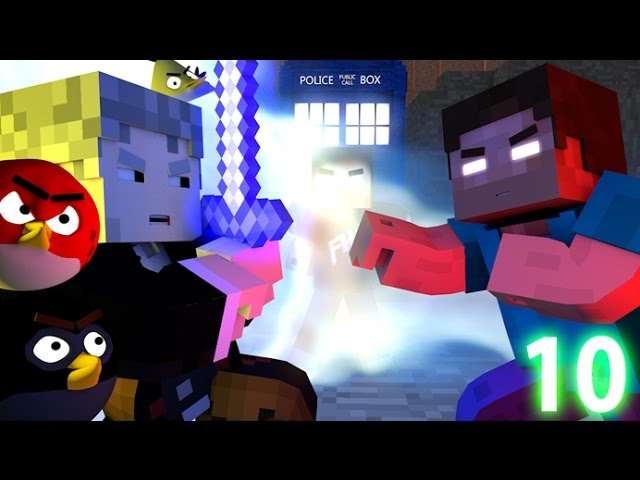 ANGRY MINECRAFT 10 (The Final Battle) Angry Birds Minecraft Animation Movie