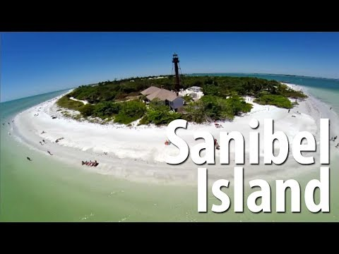 Up above Sanibel Island