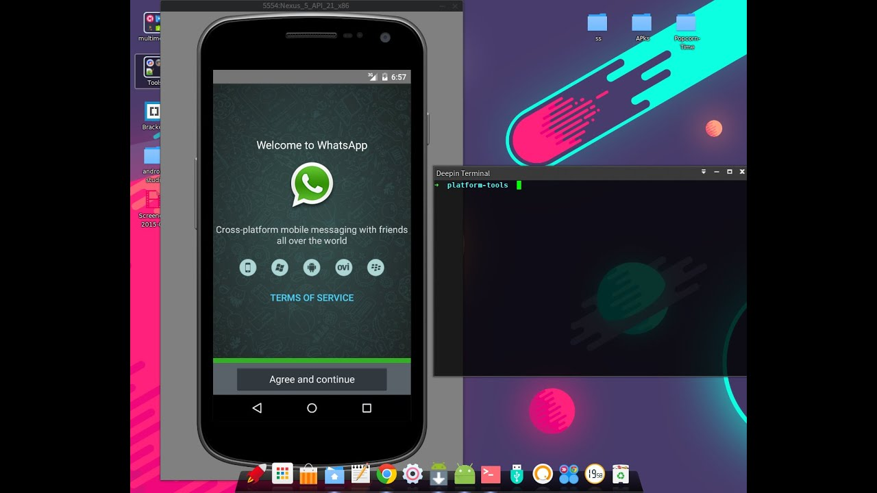 how to install whatsapp on android 2.2