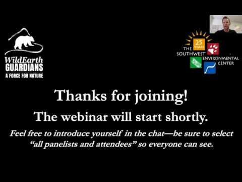 Webinar: The North American Model Of Wildlife Conservation - Past, Present, And... Future?