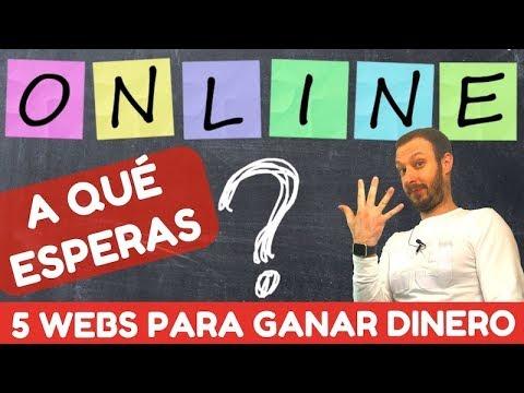 5 WEBS para GANAR DINERO ONLINE