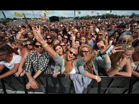 Glastonbury 2013 - interview with festivalgoers