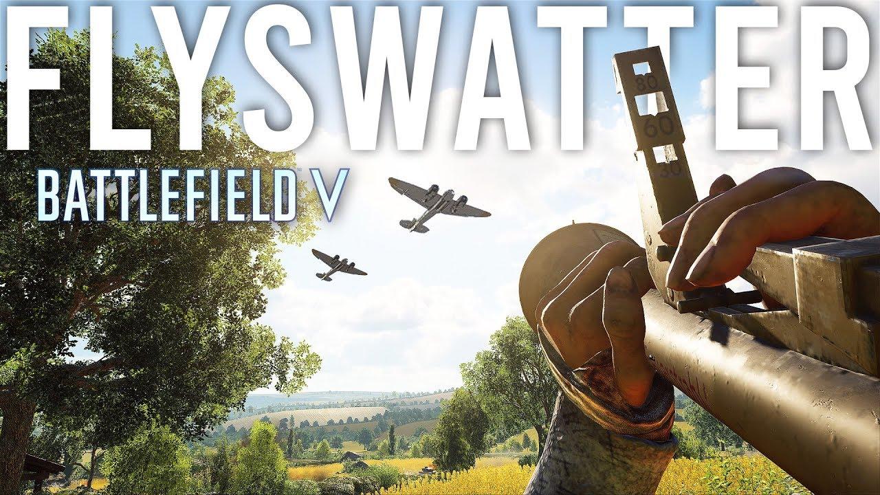 Flyswatter Battlefield V + video