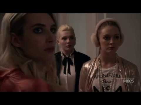 Scream Queens 1x01 - The Chanels find Chanel #2's body