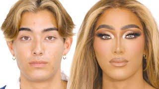 Extreme Makeup Transformation Inspired by MakeupByAriel | PatrickStarrr