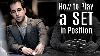 Poker Tips: How to Play a Set In Position In an Unraised Pot