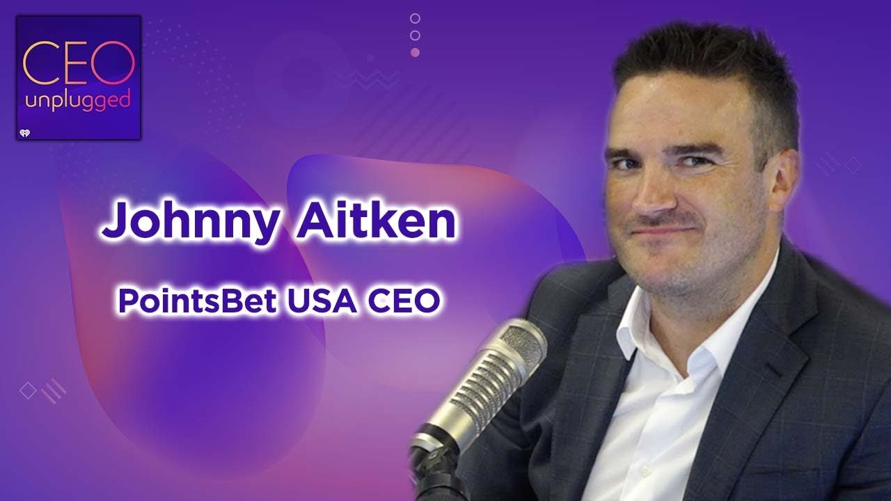 Johnny Aitken CEO of PointsBet USA | CEO Unplugged