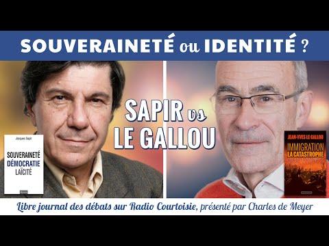 Souveraineté ou identité ?  Le duel Sapir/Le Gallou - Radio Courtoisie 13/04/2016