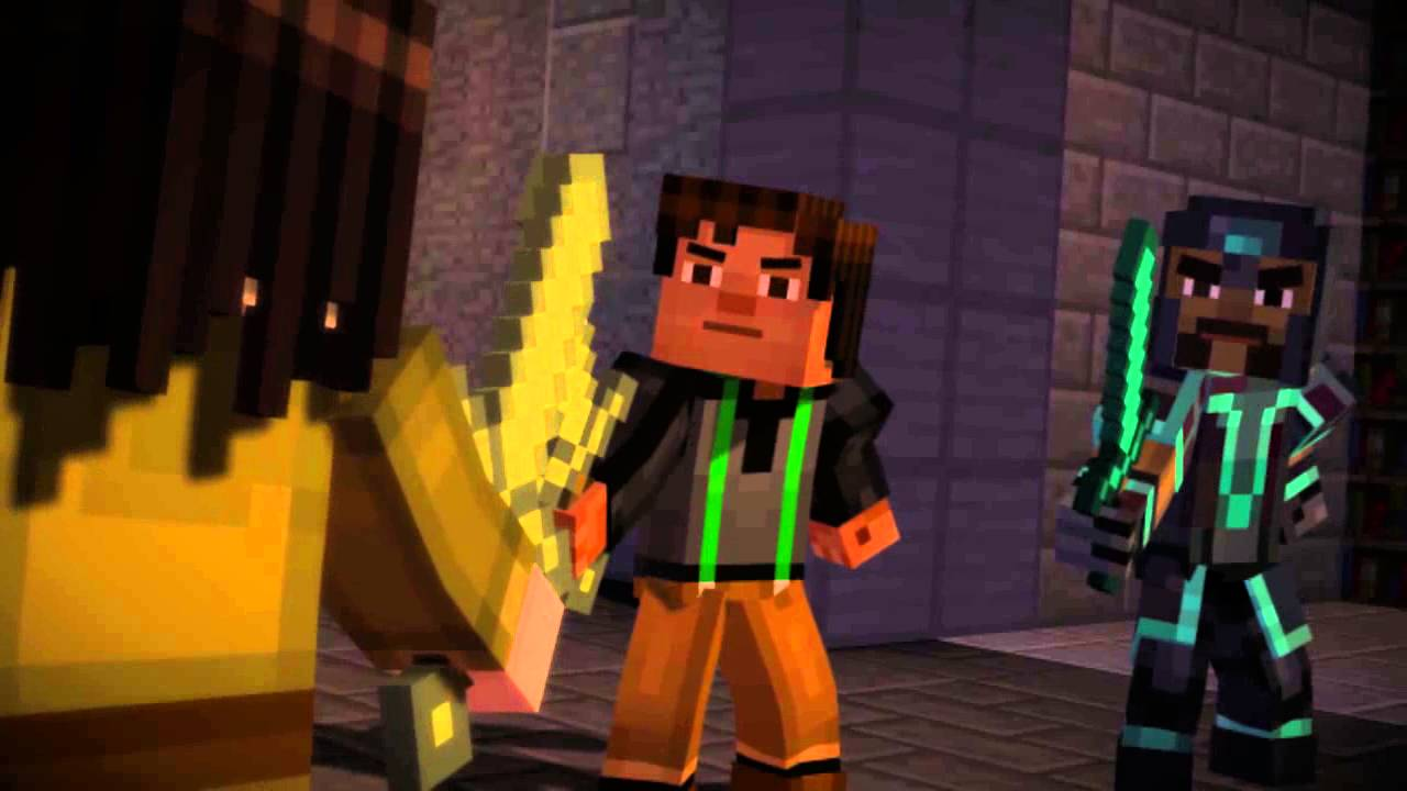 Ivor Vs Jesse Minecraft Story Mode Final Ending Fight Hd Youtube