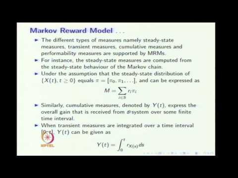 Mod-08 Lec-02 Generalized Renewal Processes and Renewal Limit Theorems