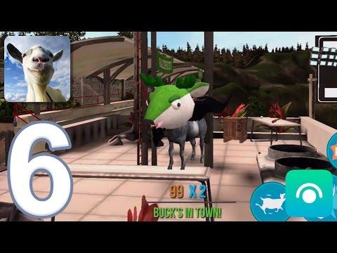 Goat Simulator - Gameplay Walkthrough Part 6 - Buck To School (iOS, Android)