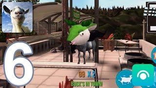 Goat Simulator - Gameplay Walkthrough Part 6 - Buck To School (iOS, Android)