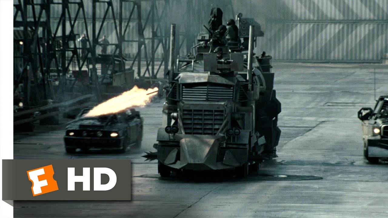 Death Race 10 12 Movie Clip Destroying The Dreadnought 2008 Hd Youtube