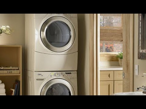 How To Move A Stacked Dryer Off The Washer—By Yourself