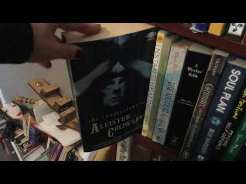 Take a look at my Witchcraft occult book shelves on my magical Book Tour