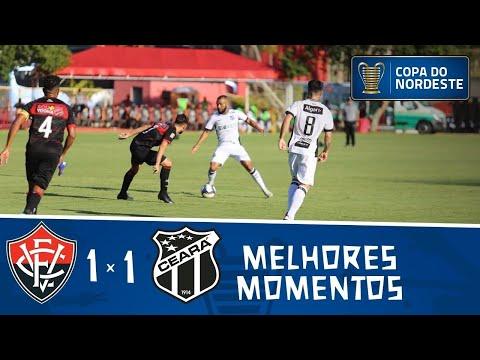 Vitória 1 x 1 Ceará | Gols e melhores momentos | 4ª rodada | Copa do Nordeste 2019