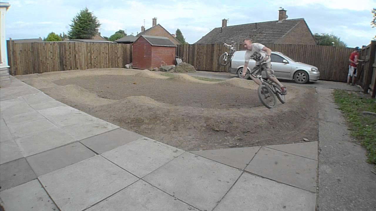 backyard pump track session week no 9 youtube