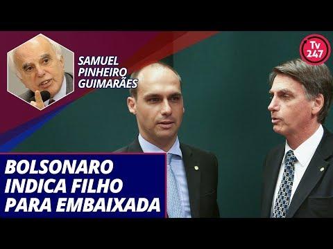 Entrevista com o Embaixador Samuel Pinheiro Guimarães, ex-secretário-geral do Itamaraty (15.07.19)