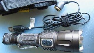 Тактический фонарь Klarus RS-11 (USB) обзор, тест(Обзор тактического - edc фонарика от Klarus. Если у вас пока нет литиевых аккумуляторов и зарядок для них - то..., 2012-12-20T17:32:14.000Z)