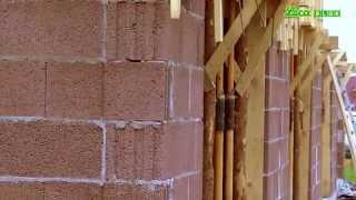 Bloczek keramzytobetonowy ściana LecaBLOK
