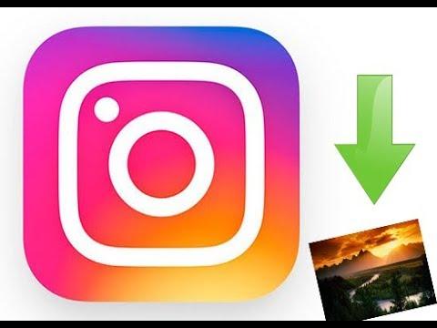 Как скачать фото с instagram на пк?! - YouTube