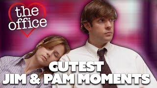 Some Of Jim & Pam's Cutest Moments   The Office US   Comedy Bites
