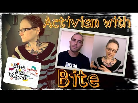 Animal Activism With Bite! | Emily from Bite Size Vegan