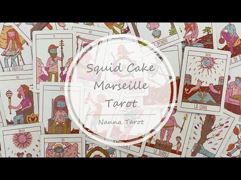 開箱  魷魚蛋糕馬賽塔羅牌 • Squid Cake Marseille Tarot // Nanna Tarot