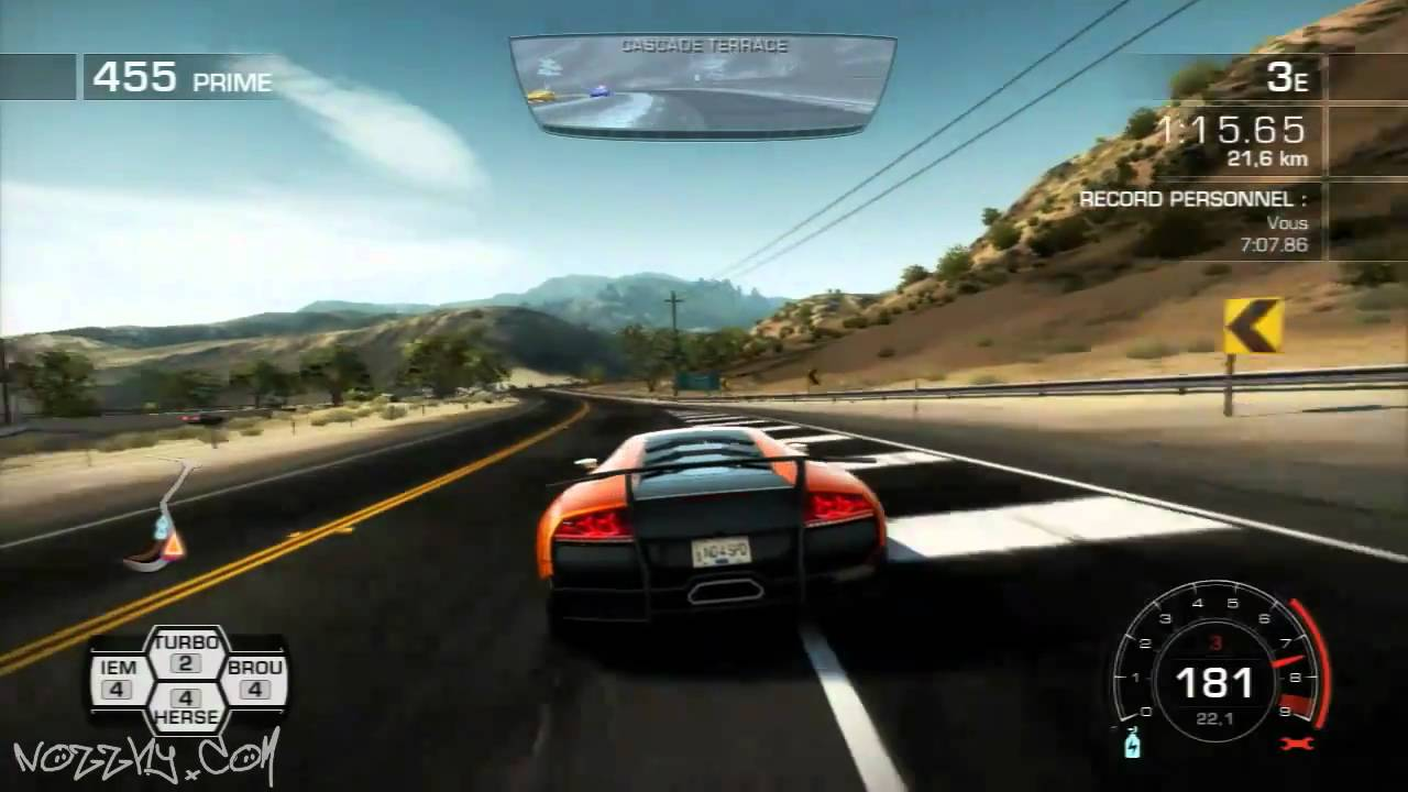 vid o test need for speed hot pursuit ps3 youtube. Black Bedroom Furniture Sets. Home Design Ideas
