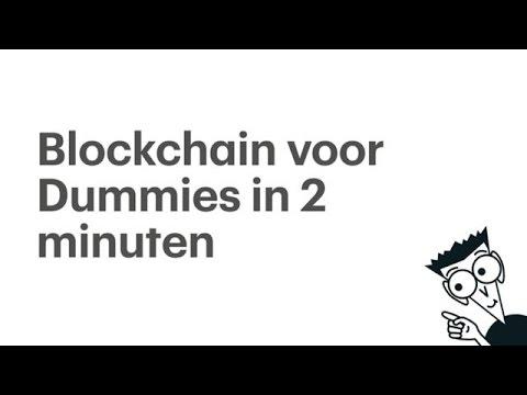 Blockchain voor Dummies in 2 minuten – RTL Z NIEUWS