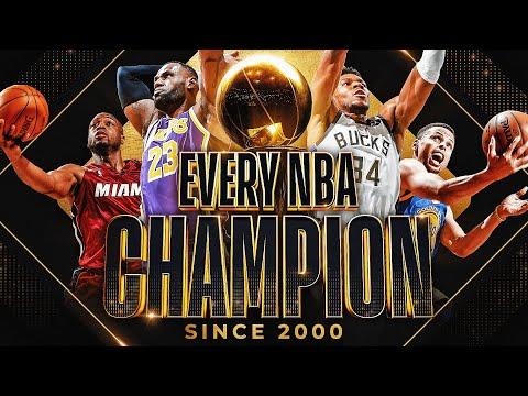 Download EVERY NBA Championship Celebration (2000-2021) 🏆