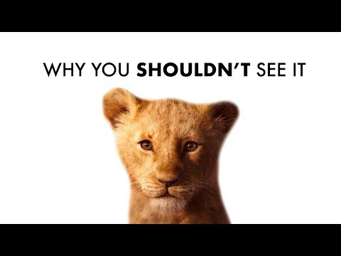 Don't See The Lion King Remake