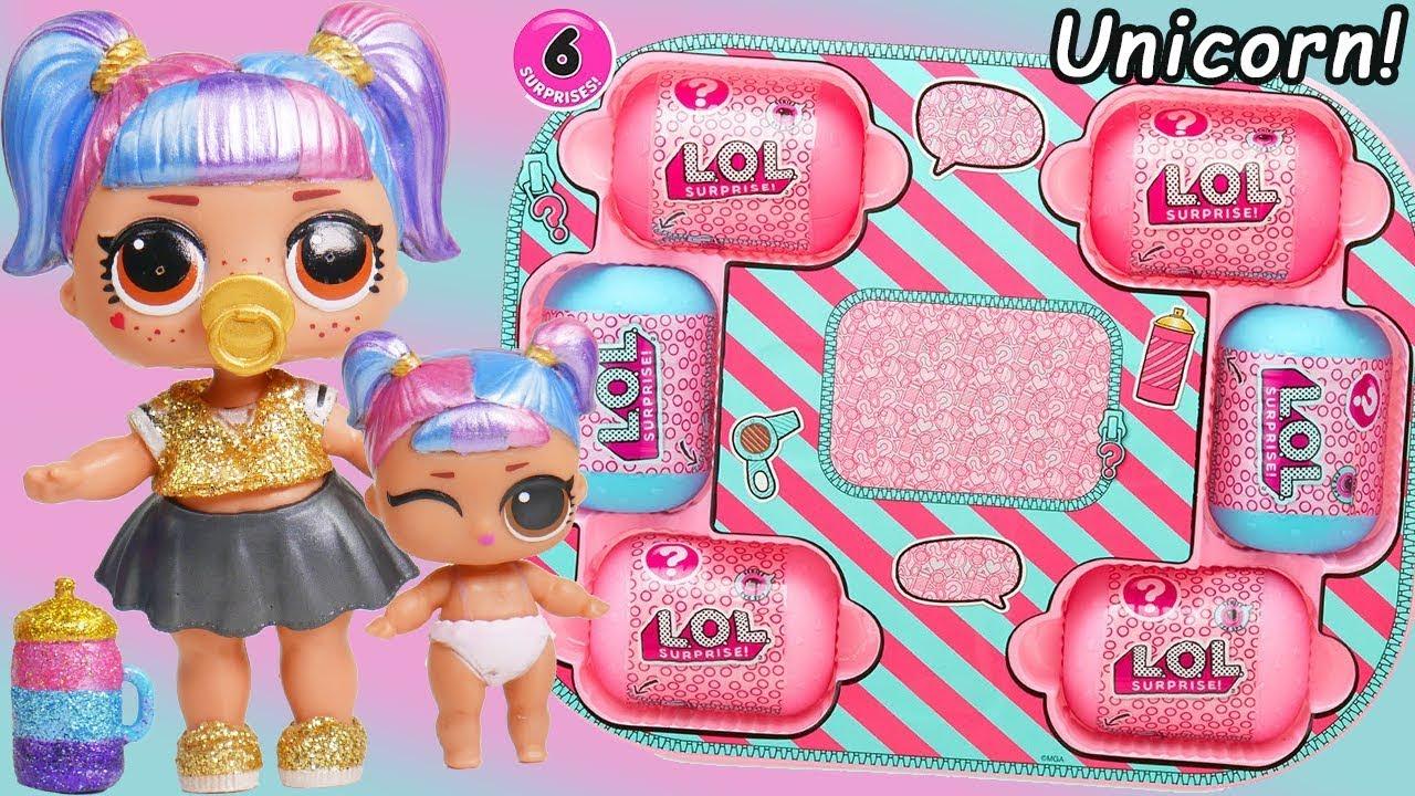 Unicorn Slime Custom Lol Surprise Dolls Hairgoals Makeover Series 5