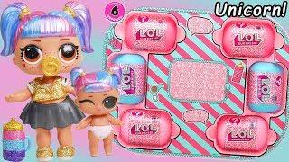 Unicorn Slime Custom LOL Surprise Dolls - #Hairgoals makeover Serie...